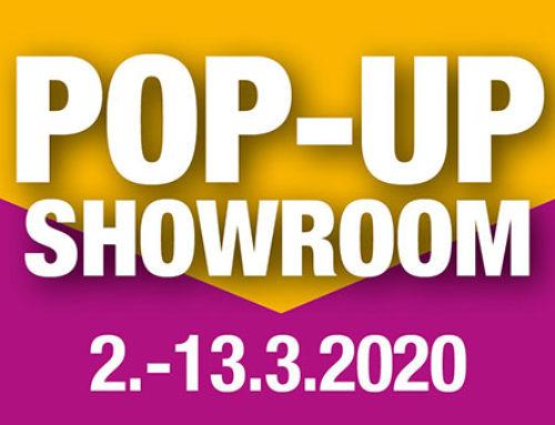 Tervetuloa pop-up showroom -tapahtumaan 2.-13. maaliskuuta